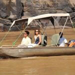 Boat Safari on Rufiji River